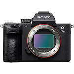 Sony a7 iii full-frame camera with 3-inch lcd, black ilce7m3/b