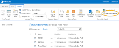 SharePoint Tips: Managing Multiple Files with Windows Explorer