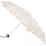 Totes Titan Mini Manual NeverWet Umbrella White Rain (One Size)