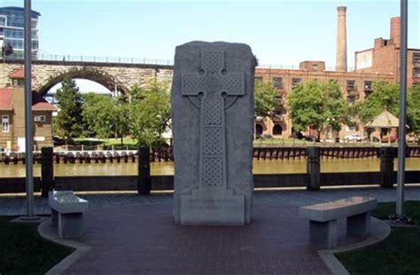 Irish Famine Memorial in Cleveland Ohio