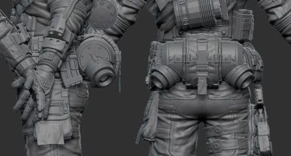 Titanfall MCOR Pilot - Costume and Equipment with 3d print ...