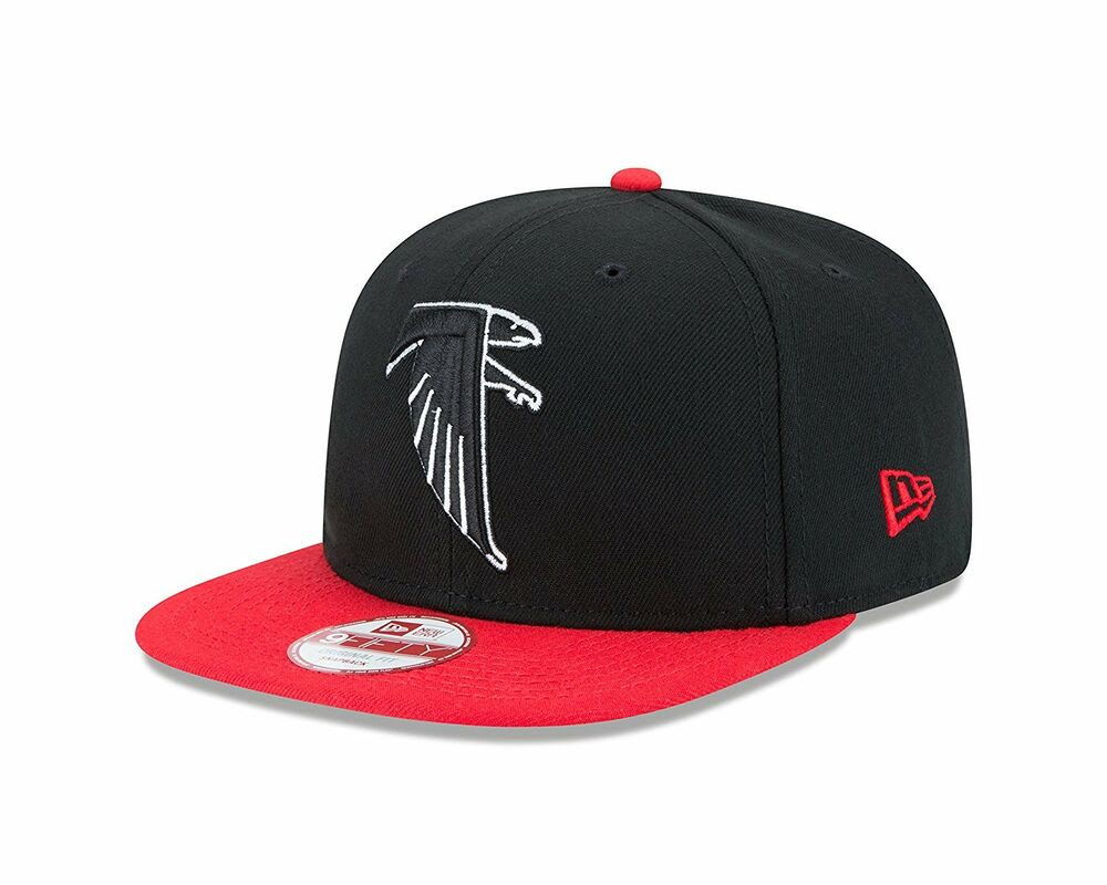 Atlanta Falcons New Era 9Fifty Vintage Throwback Logo Snapback Hat Cap Black NFL  eBay