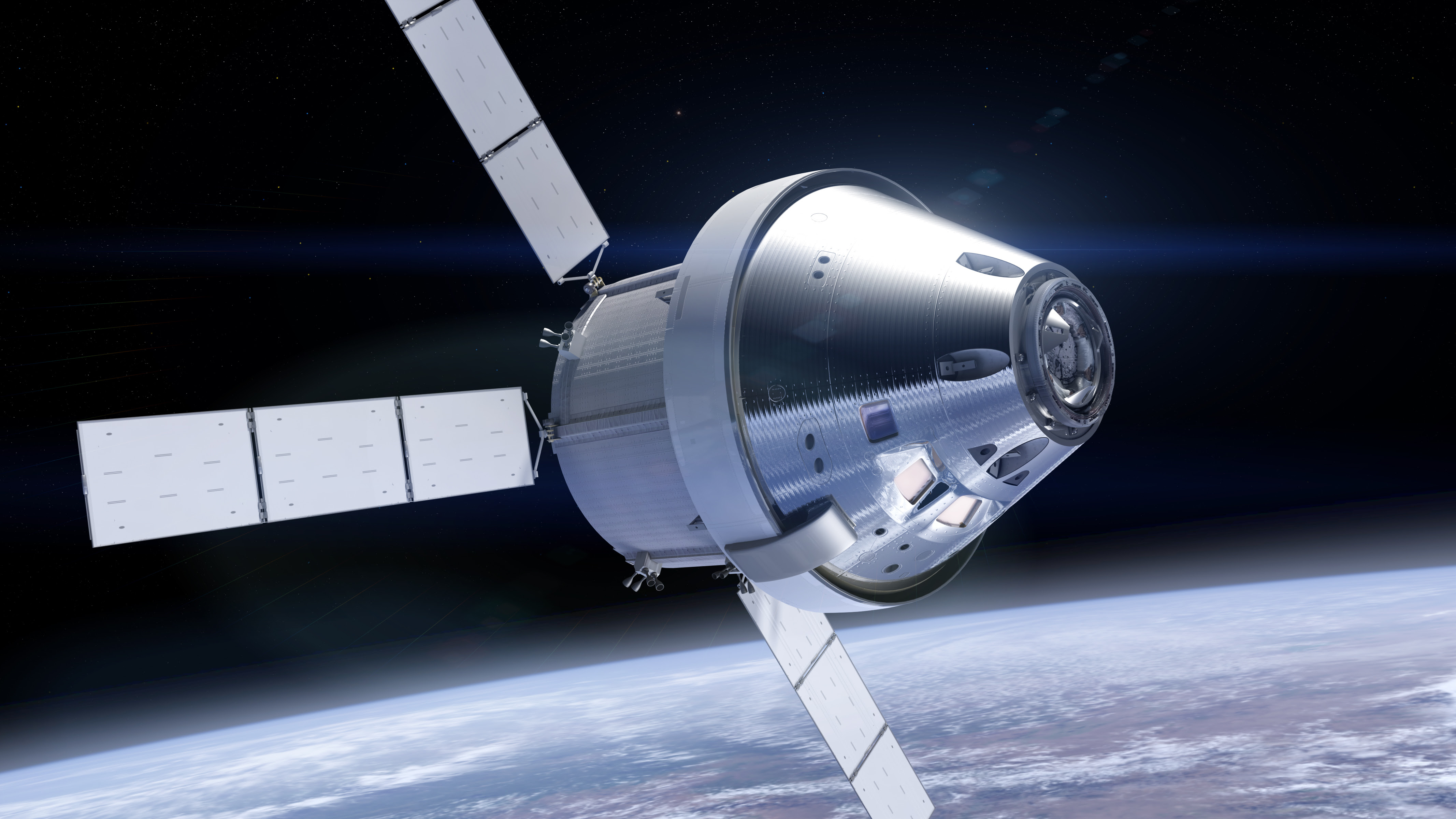 Orion Spacecraft Paper Model