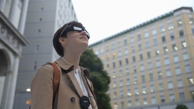 Tech Giant: Sony announces Smart Eyeglass Developer Edition SED-E1