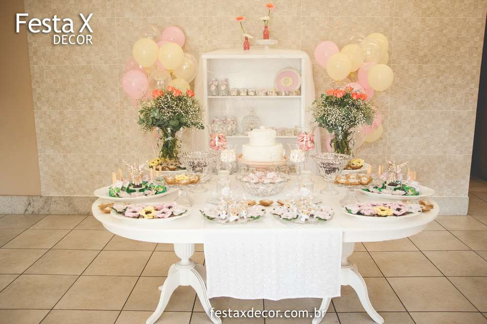 Baptism Decorations For A Girl