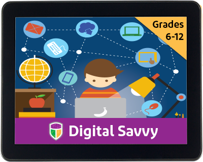 Digital Savvy by CompuScholar, Inc. {Curriculum Review}