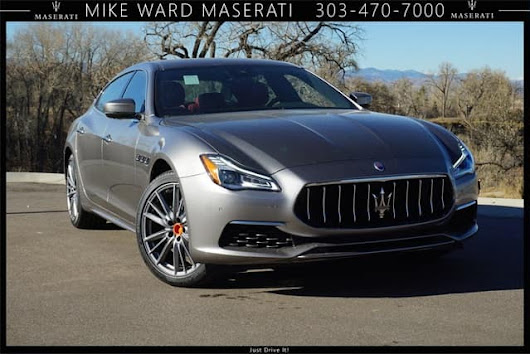 2019 Maserati Quattroporte S Q4 AWD luxury sedan available near Denver
