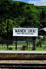 Manek Urai: Railway Station by Syed Azidi AlBukhary