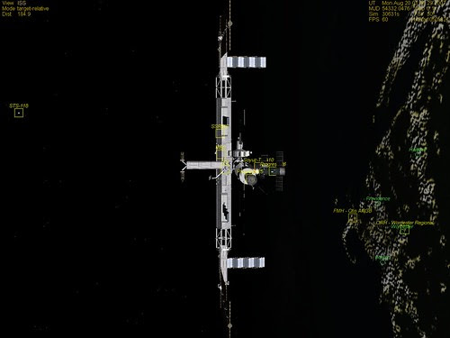 ISS New England Pass 19 Aug 2007