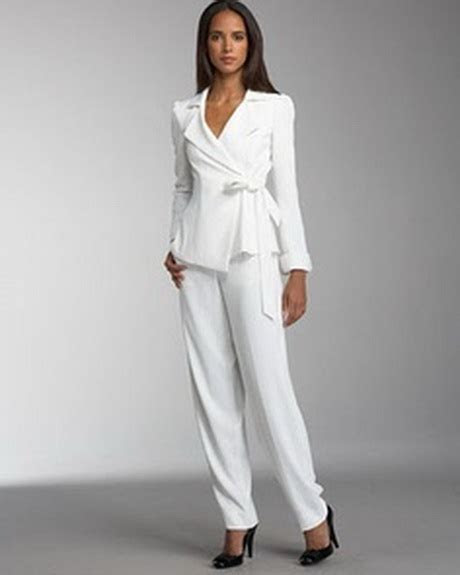 Womens White Suits Wedding