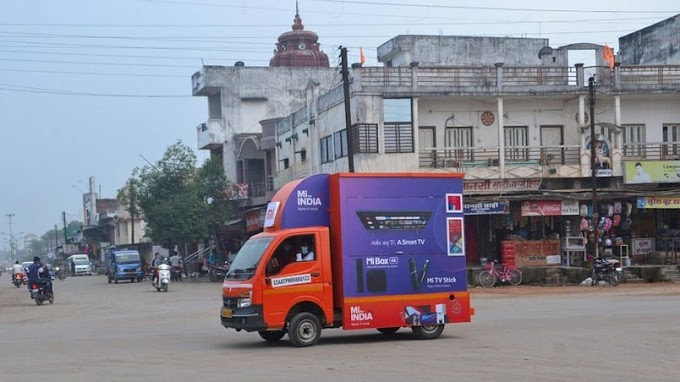 "Xiaomi launches ""Mi Store on Wheels"" for rural customers in India"