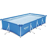 "Bestway Steel Pro 13' x 7' x 32"" Rectangular Frame Above Ground Swimming Pool at VM Express"