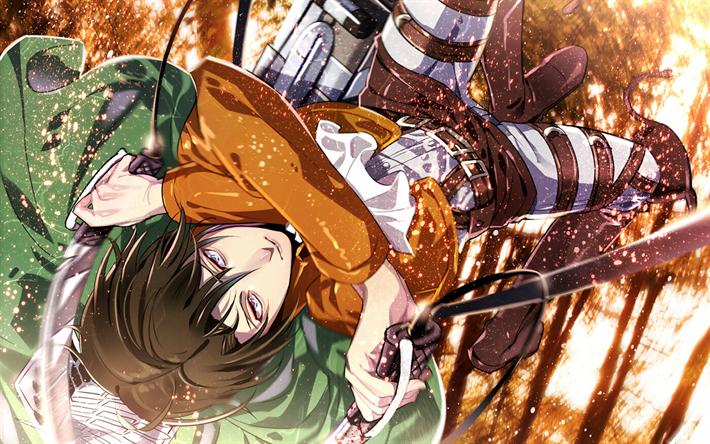 Levi Attack On Titan Wallpaper 4k Gambarku