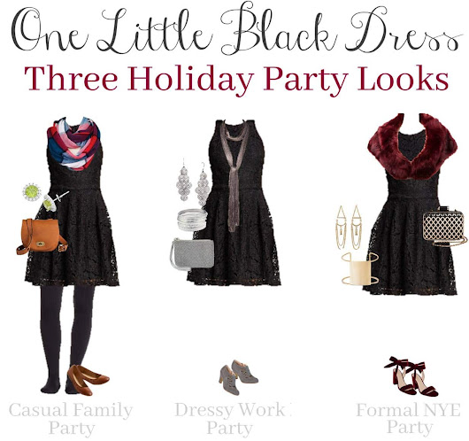 Little Black Dress: Wear it 3 Ways During the Holidays