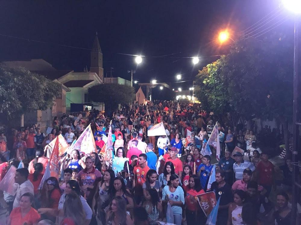 Multidão em Bom Sucesso prestigia evento político com Galego Souza e Daniela Ribeiro