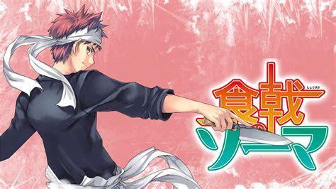 Food Wars: Shokugeki no Soma Full HD Wallpaper and