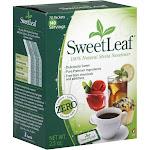 Sweet Leaf Stevia Sweetener - 70 packets, 2.5 oz box