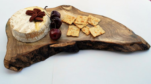 Hidden Hill Cheese Tray Live Edge Maple