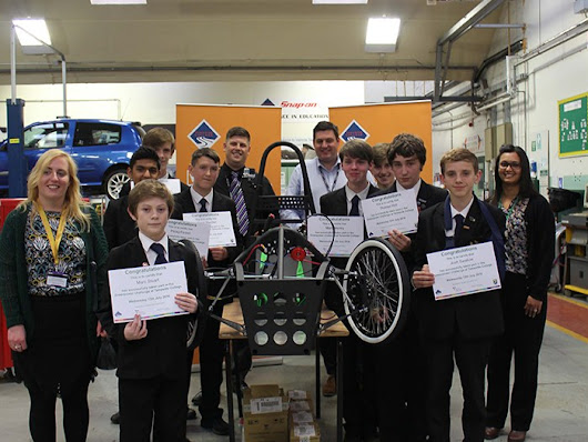 West Hill pupils motor on with Greenpower challenge