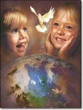 Paz Ninos Tierra Moviéndose Más Allá De, y a Través de Los Escenarios del Armagedón Hacia Un Renacimiento de La Tierra Un Mensaje De Los Niños Cristalinos A La Gente Del Planeta Tierra.