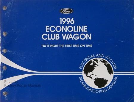 1996 Ford Econoline Van E150 E250 E350 Electrical Vacuum ...