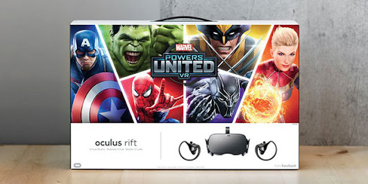 Oculus Announces Rift+Touch 'Marvel Powers United VR' Bundle for $399