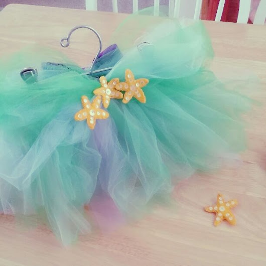The little mermaid tutu and hair star 2t($ 24) - Mercari: Anyone can buy & sell