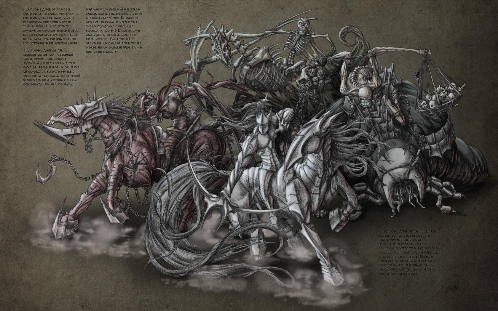 Horsemen Of Apocalypse Wallpaper 1680x1050 10652