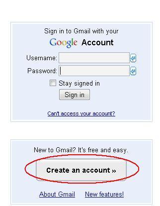 cara buat email dari Gmail