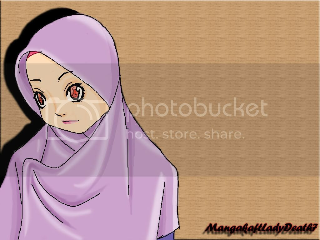 Gambar Kartun Muslimah Yang Sedang Menangis Top Gambar