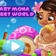 BABY MOANA SWEET WORLD - MOANA GAMES