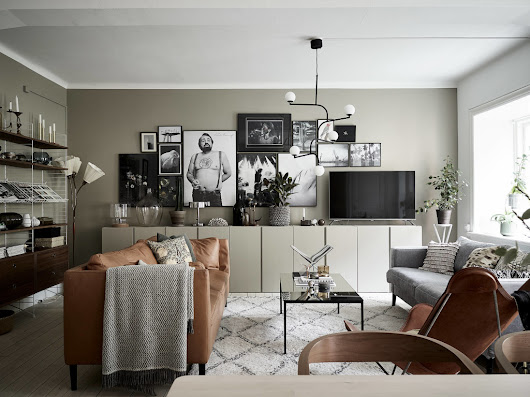 From green to beige - COCO LAPINE DESIGN