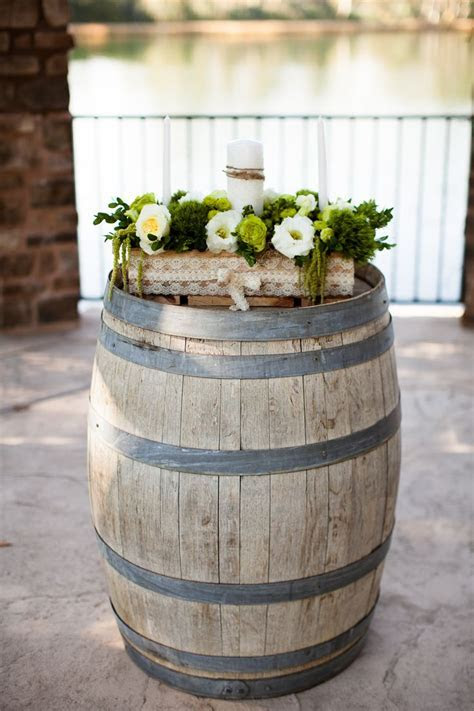Unity Candle Box. Outdoor wedding. Whiskey Barrel   Our