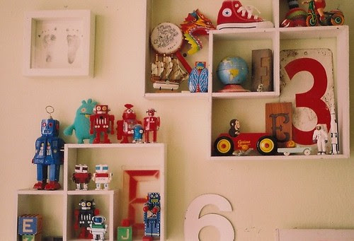 ezra's shelves.