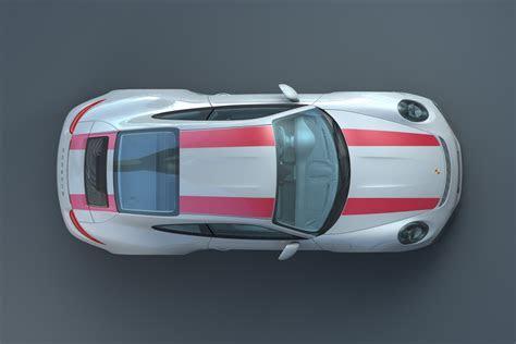 Porsche 911 R (2016) and Komenda's car body design
