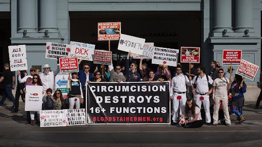 Worldwide Day of Genital Autonomy Demonstration | Bay Area Intactivists