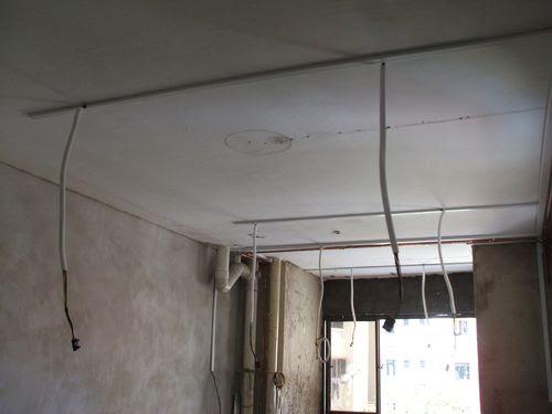 Wiring at Kitchen
