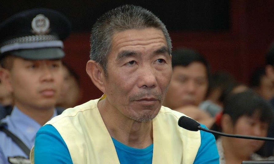 chino caníbal fue ejecutado