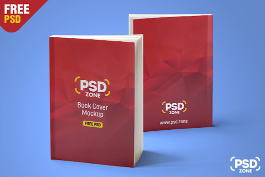 Realistic Book Mockup Free PSD - PSD Zone