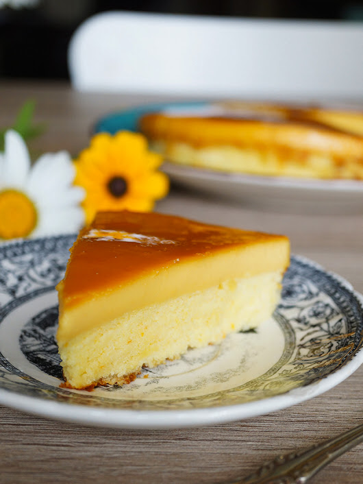 FILIPINO CUSTARD CAKE/ THESKINNY POT