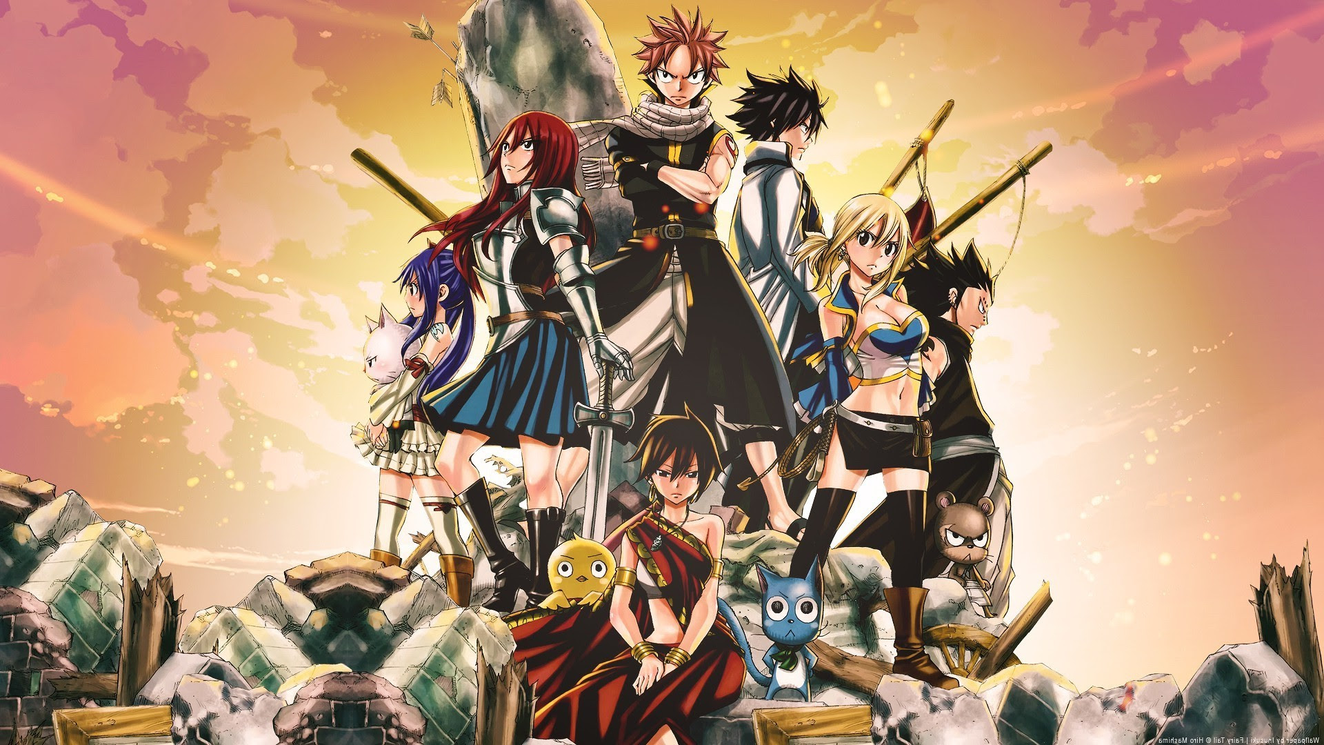 Fairy Tail Dragon Slayers Wallpaper 71 Images