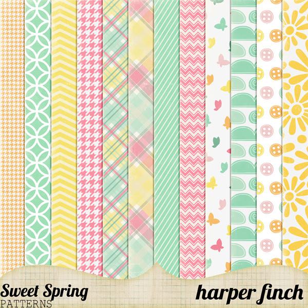Sweet Spring Patterns by harperfinch