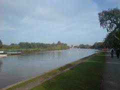 the Thames at Surbiton