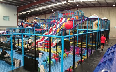 Ultimate - A huge Indoor Trampoline Park & Indoor Play Centre