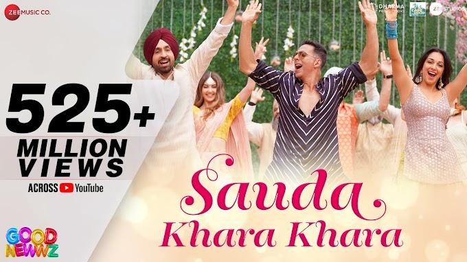 Sauda Khara Khara - Lyrics in हिंदी and English - Good Newwz