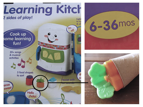Learning Kitchen: Potential Choking Hazard