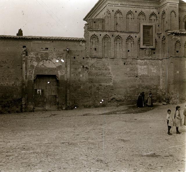 Palacio de Pedro I el Cruel de Toledo en 1913. Fotografía de Luis Calandre Ibáñez