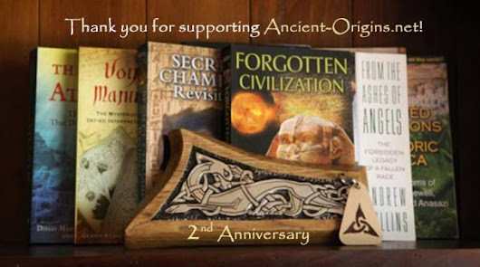Ancient Origins 2nd Anniversary Prize Giveaway | Ancient Origins