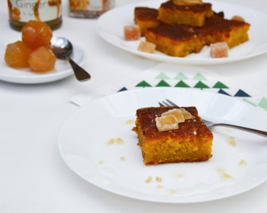 Carrot and Ginger Cake Recipe