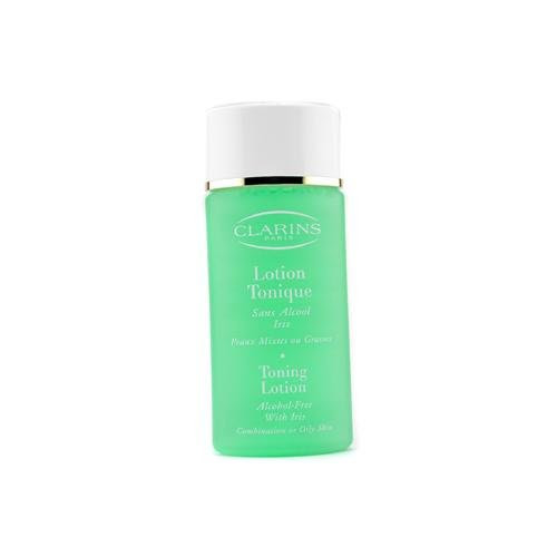 Clarins Toning Lotion Alcohol Free with Iris for Oily to Combination